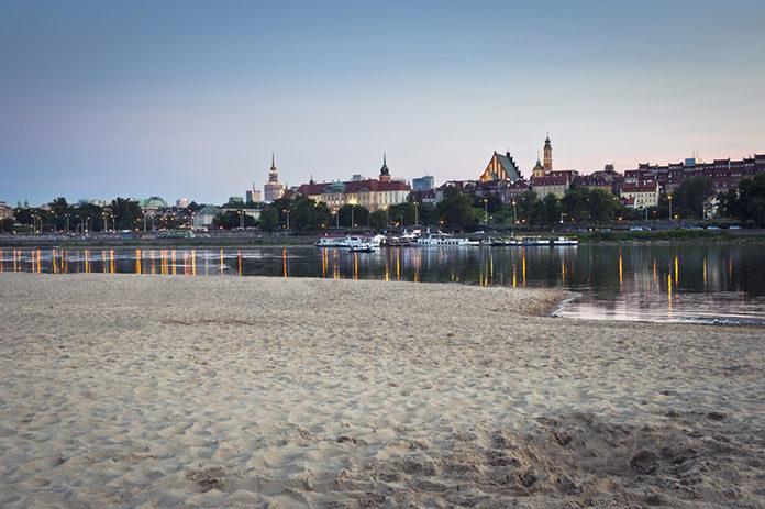 Plaże w Warszawie, czyli sposób na lato w mieście
