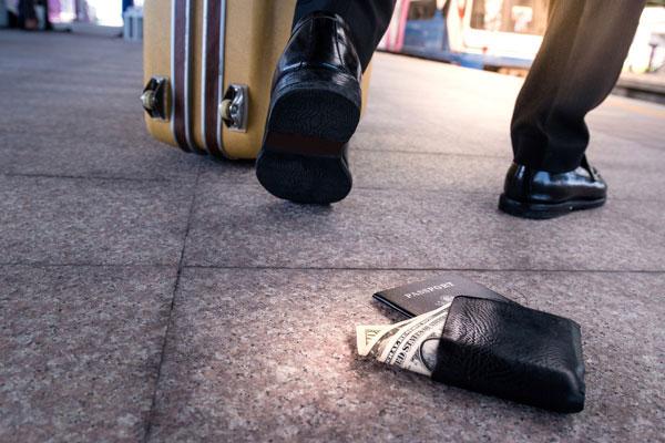 Zgubiony portfel i paszport